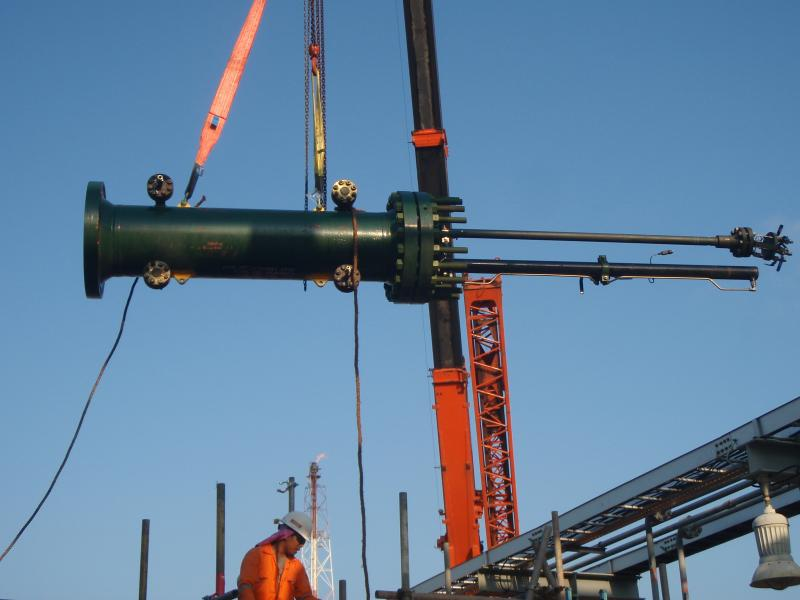 STATS BISEP™ Being Lifted into Position